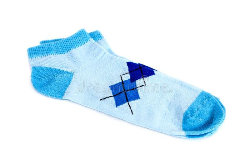 Paar modieuze sokken stock fotografie