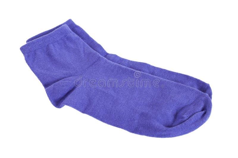 Paar modieuze sokken stock afbeelding