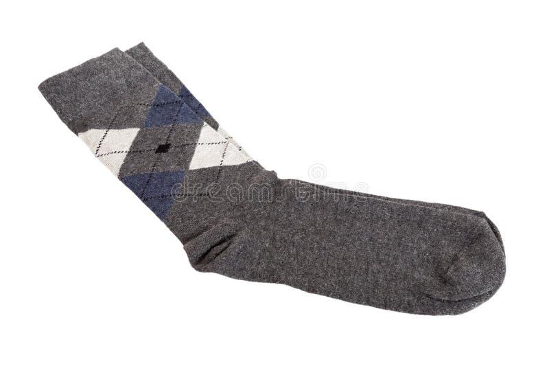 Paar modieuze sokken stock foto's