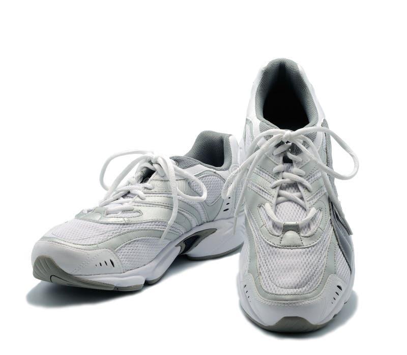 Paar nieuwe sportschoenen stock afbeelding