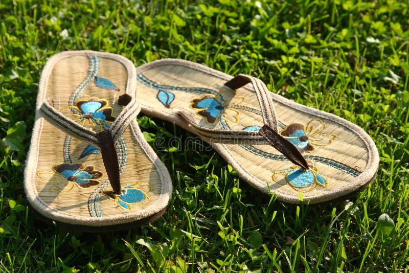 Paar pantoffels royalty-vrije stock afbeeldingen