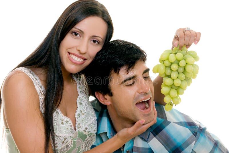 Paar-Spaß stockbild