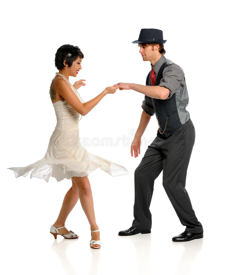 Paar-Tanzen lizenzfreies stockfoto