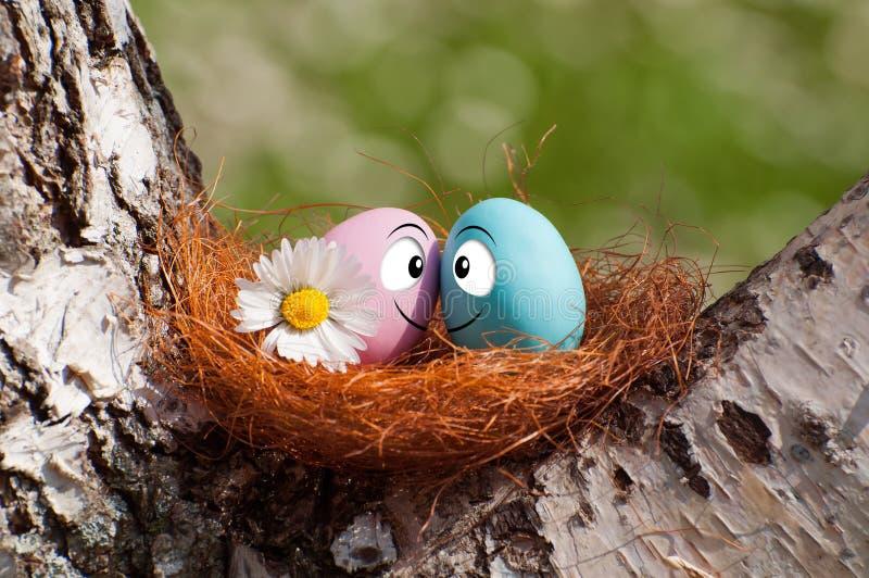 Download Paar van eieren voor Pasen stock foto. Afbeelding bestaande uit traditie - 39105200