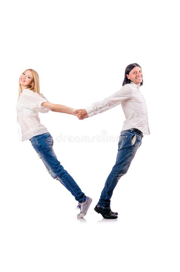 Paar van man vrouw