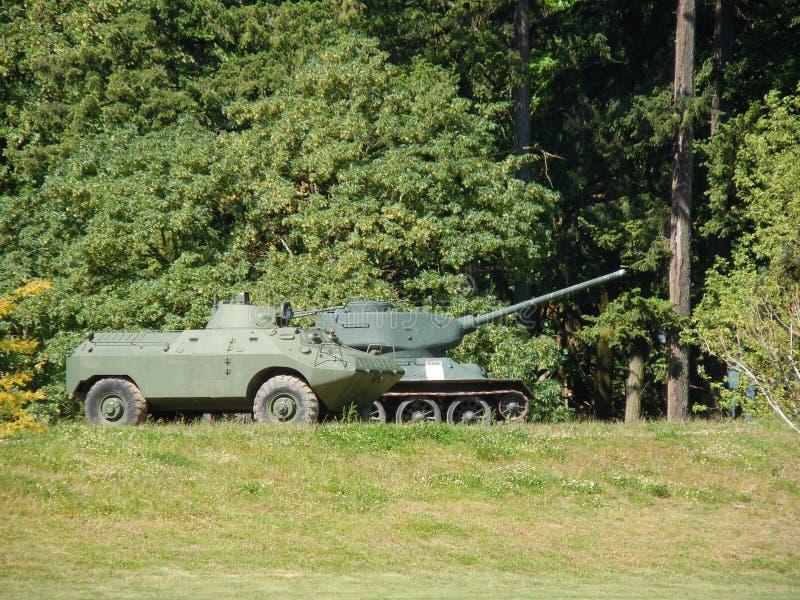 Paar van Tanks royalty-vrije stock fotografie