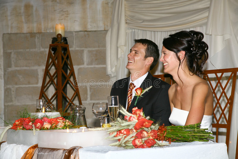 Paar-Zeremonie stockfoto