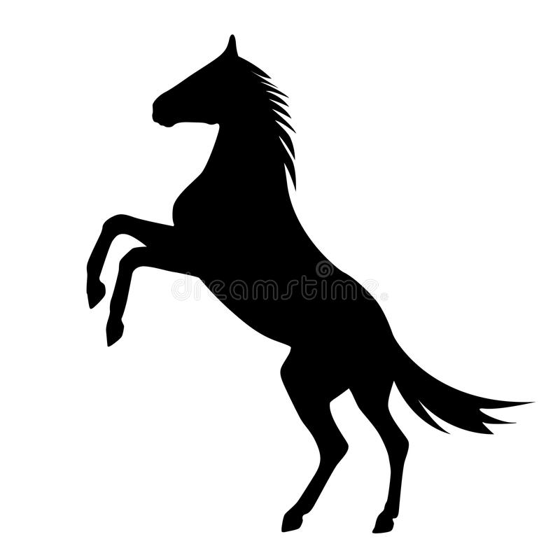 paard royalty-vrije illustratie