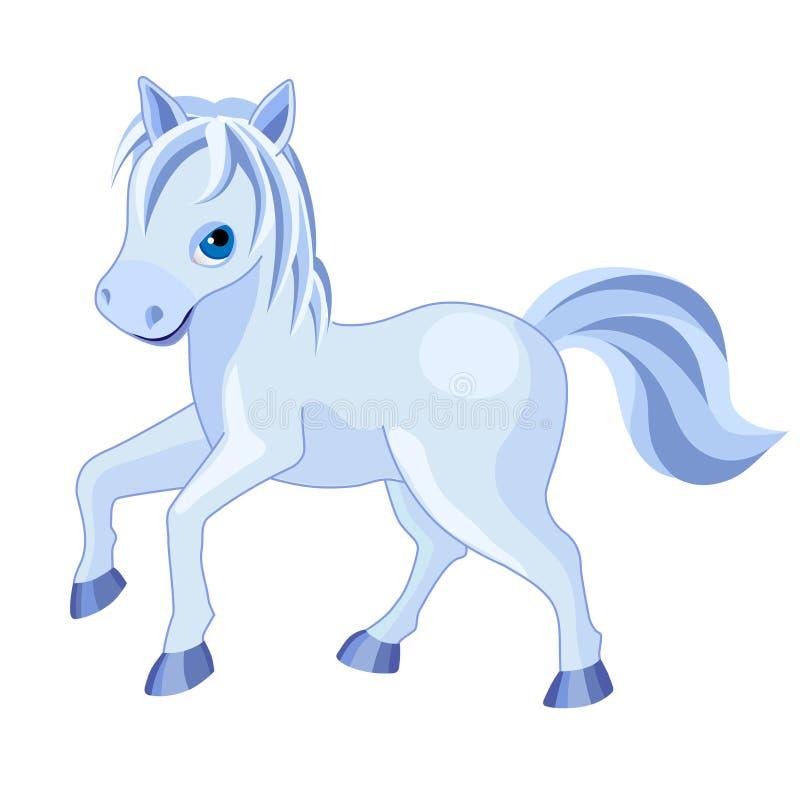 Paard-02 stock illustratie