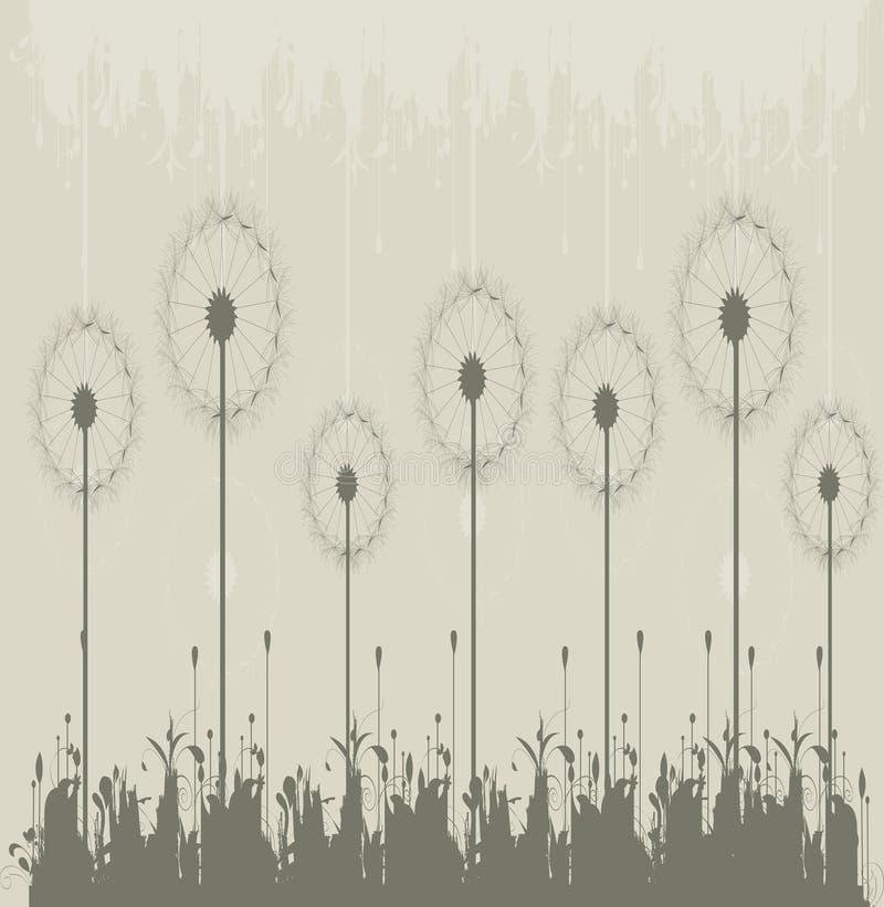 Paardebloem. Bloemen ontwerp vector illustratie