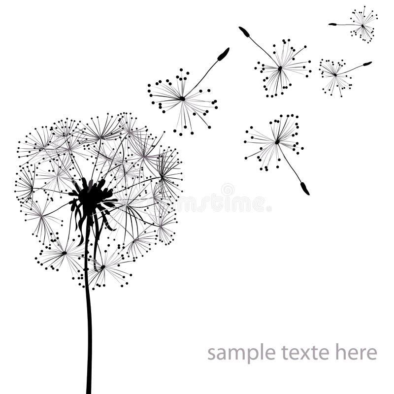 Paardebloemen vector illustratie
