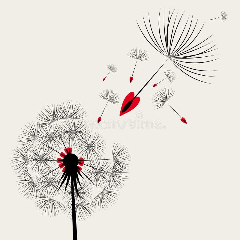 Paardebloemen stock illustratie