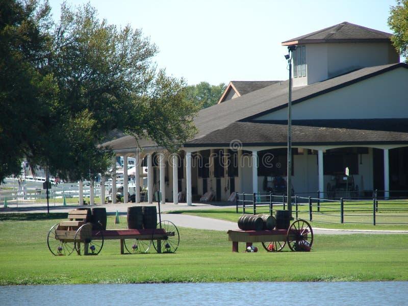 Paardpark stock afbeeldingen