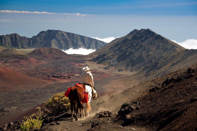 Paardrijden bij 10,000ft royalty-vrije stock afbeelding