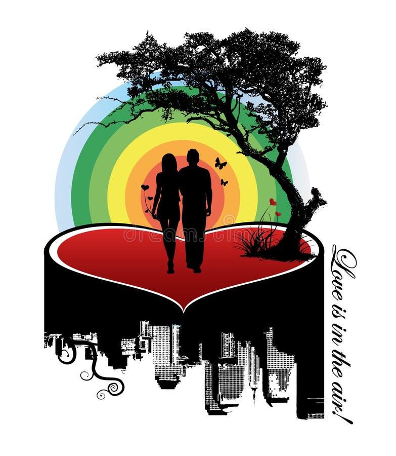 Paare auf einem Inneren vektor abbildung