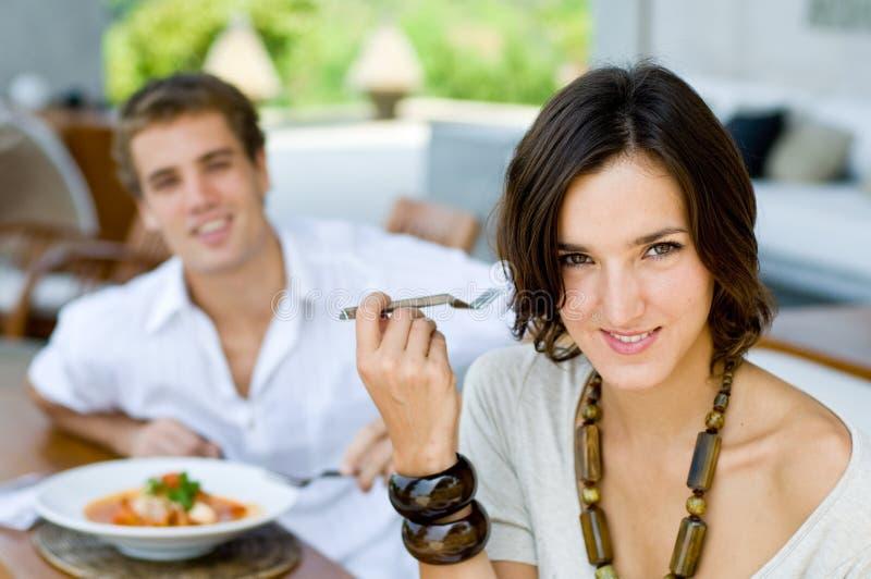 Paare auf Ferien stockfoto
