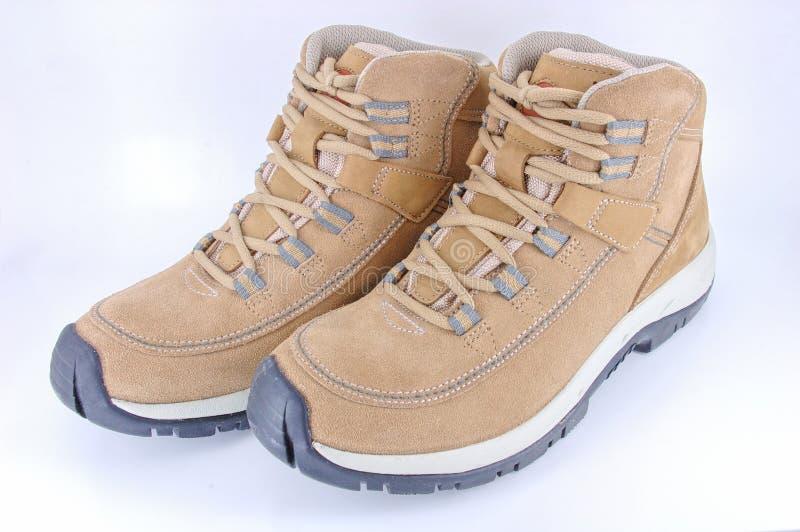Paare der gehenden Schuhe lizenzfreie stockfotografie