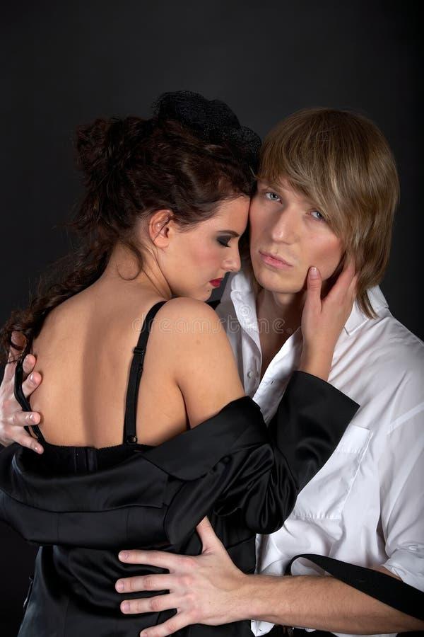Download Paare in der Liebe stockfoto. Bild von schwarzes, fashion - 12201968