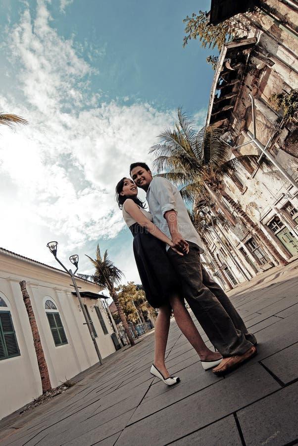 Paare in der Liebe stockbilder