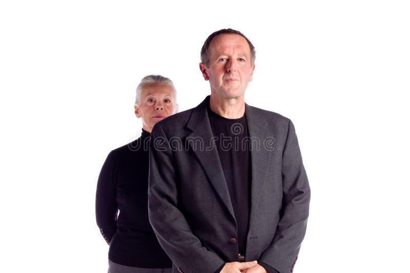 Paare des fälligen Geschäfts stockbild