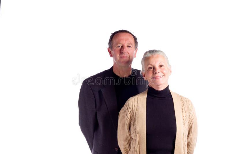 Paare des fälligen Geschäfts lizenzfreies stockfoto