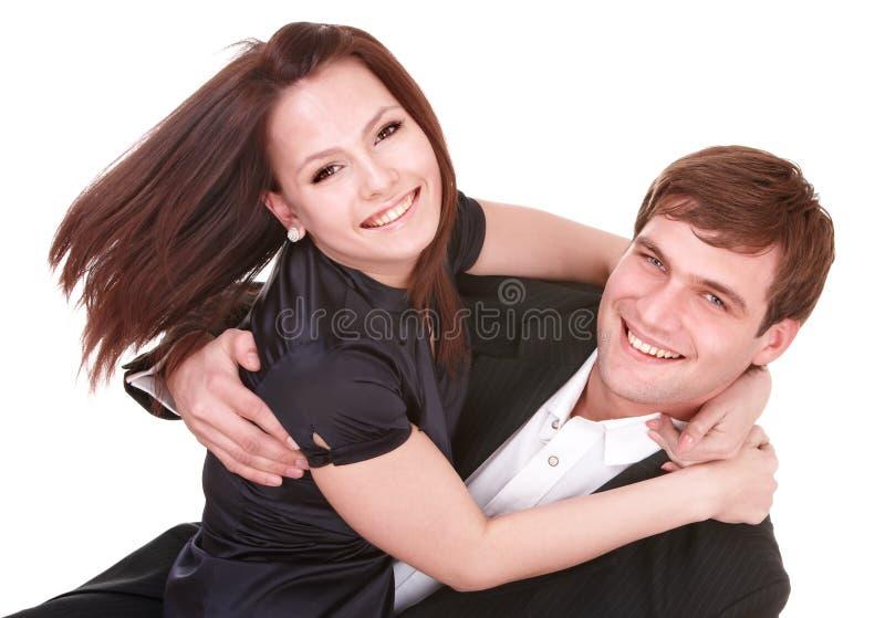 Paare des Mädchens und des Mannes. Liebe. stockfotos