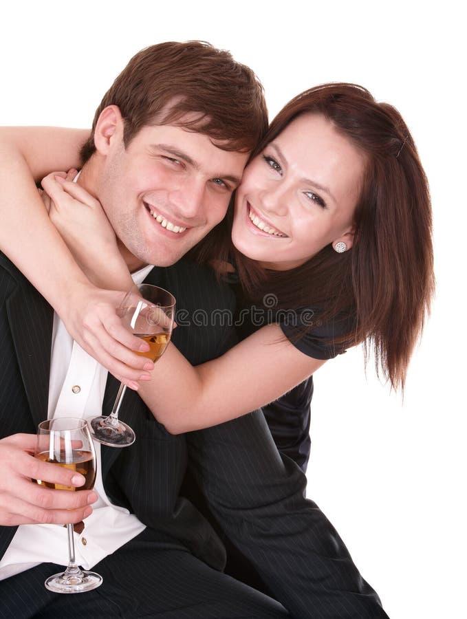 Paare des Mädchens und des Mannes. Liebe. stockbild