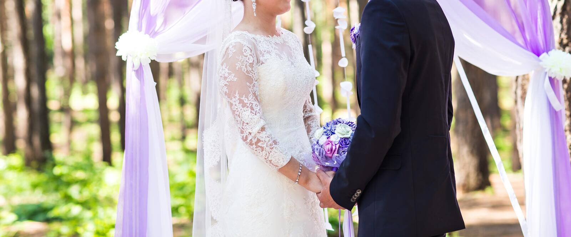 Paare, die heiraten lizenzfreie stockfotos