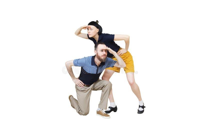 Paare, Die Nach Etwas Suchen Stockbild - Bild von männer