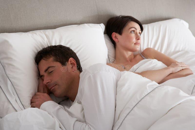 Paare mit den Problemen, die Widerspruch haben lizenzfreies stockfoto