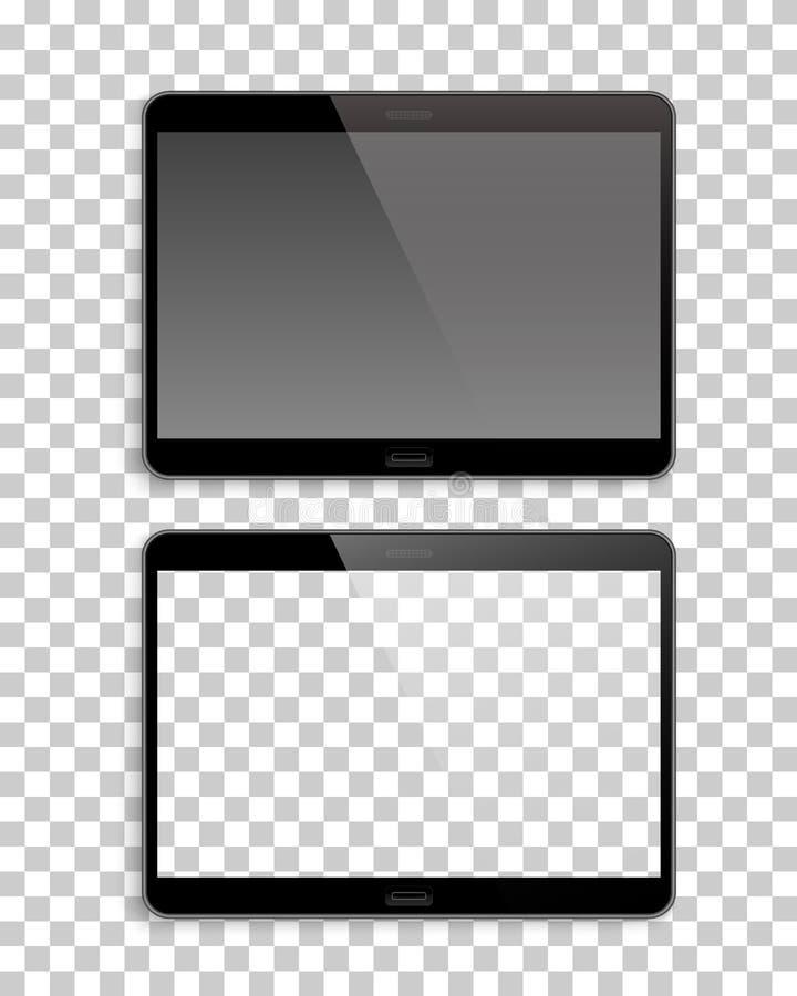 Paare transparenter Hintergrund des Gerätmodells lizenzfreie abbildung