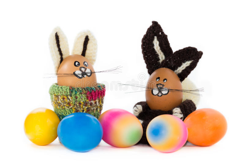 Download Paashaas met ei stock afbeelding. Afbeelding bestaande uit eieren - 39109033