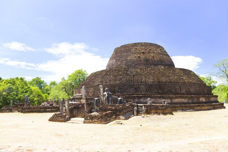 Pabalu Vehera, Polonnaruwa, Sri Lanka fotos de stock