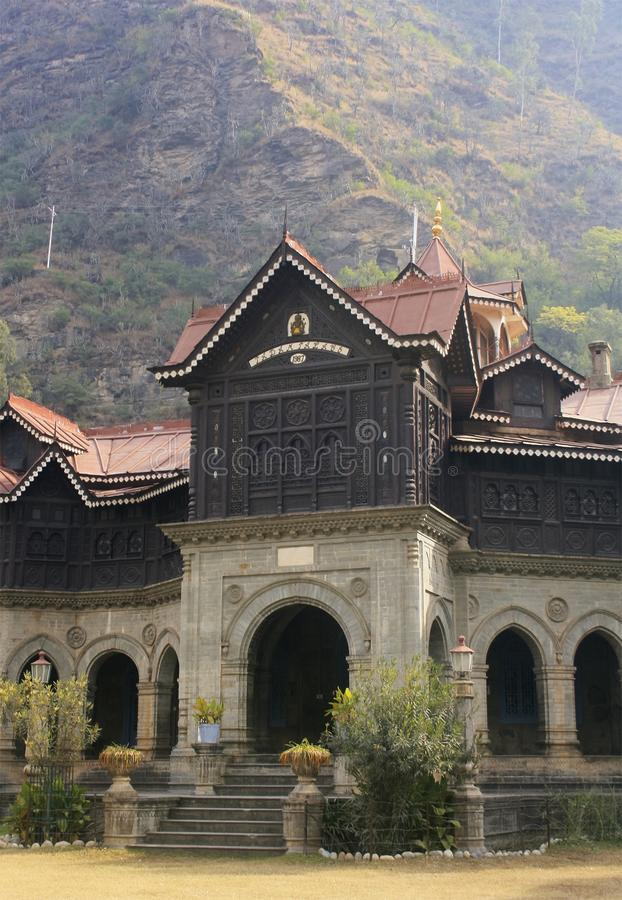Pabampaleis Rampur royalty-vrije stock fotografie