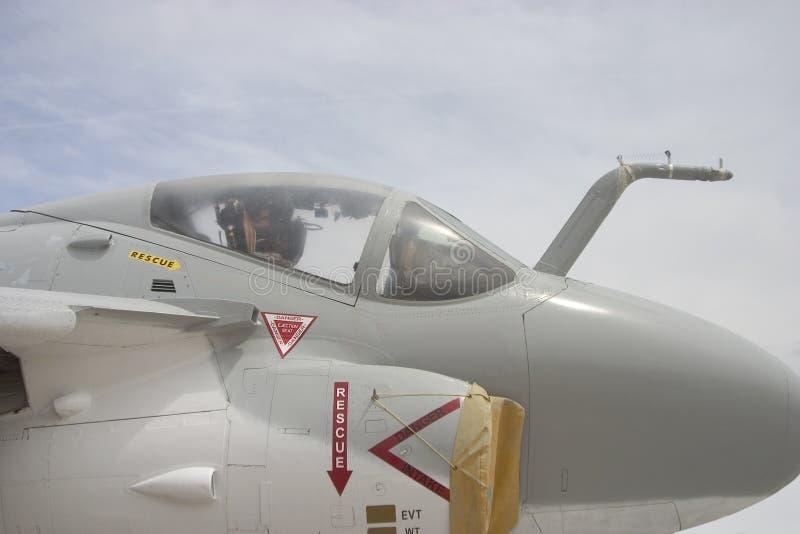 Pabellón 2 del jet imagenes de archivo