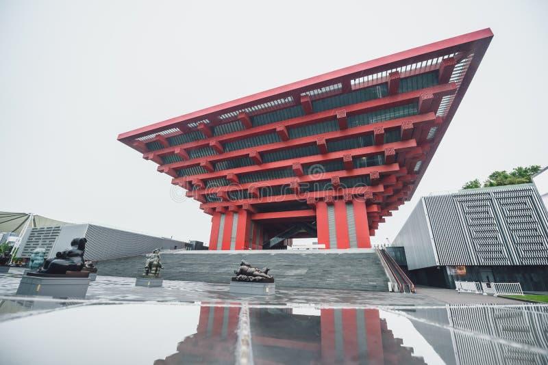 Pabellón de China de la expo 2010 fotos de archivo libres de regalías