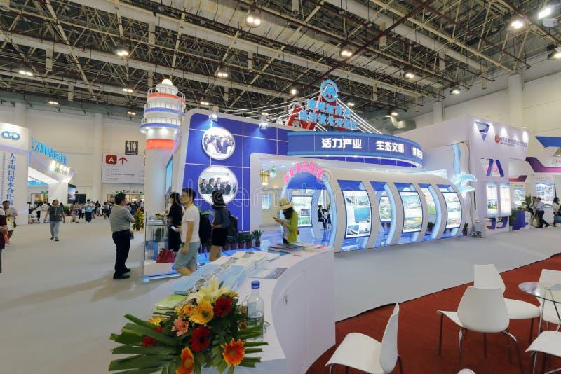 Pabellón de la rama del zhangzhou de los comerciantes de China foto de archivo libre de regalías