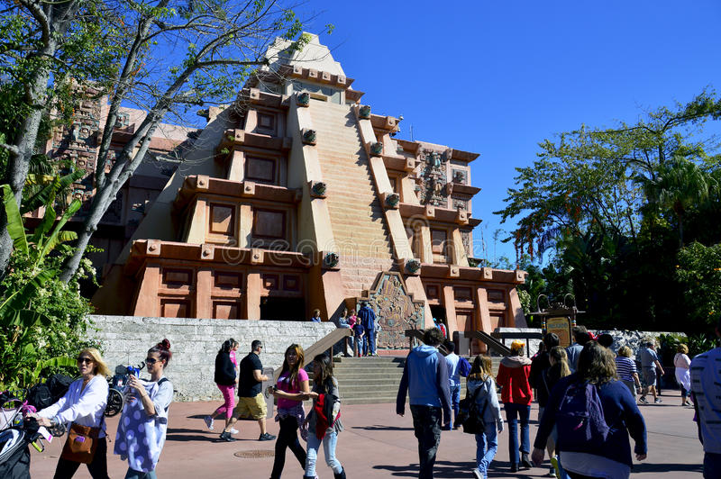 Pabellón de México en Epcot imagen de archivo