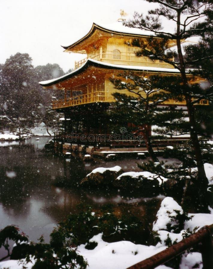 Pabellón de oro   foto de archivo libre de regalías