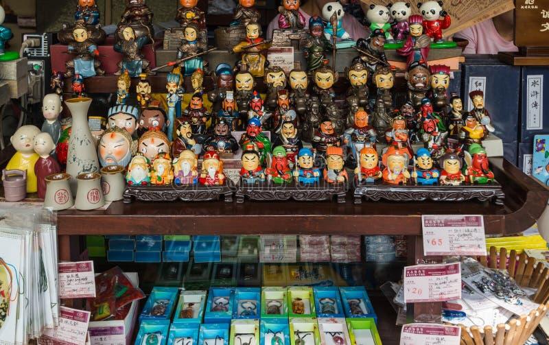 Pabellón del templo del wuhou de Chengdu imágenes de archivo libres de regalías