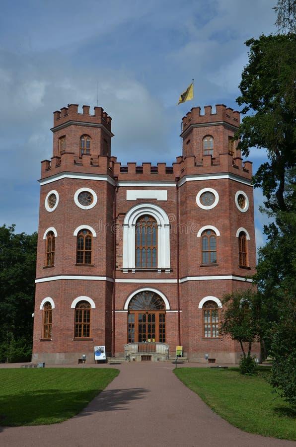 Pabellón en Catherine Park en Tsarskoye Selo imagen de archivo