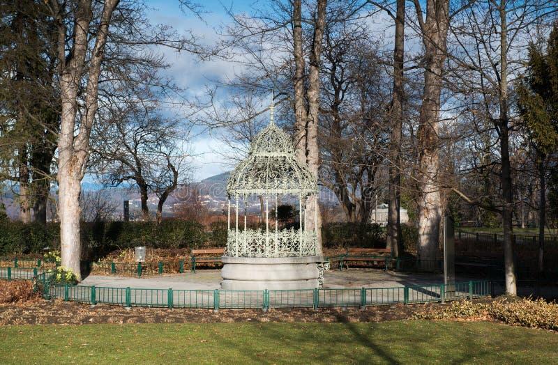 Pabellón en Schlossberg imagen de archivo libre de regalías