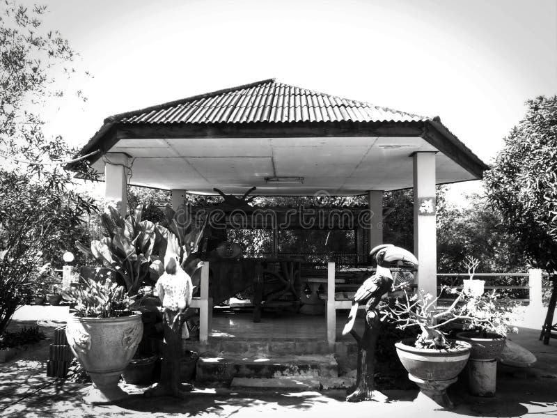 Pabellón en univercity en Prajinburi imagen de archivo libre de regalías