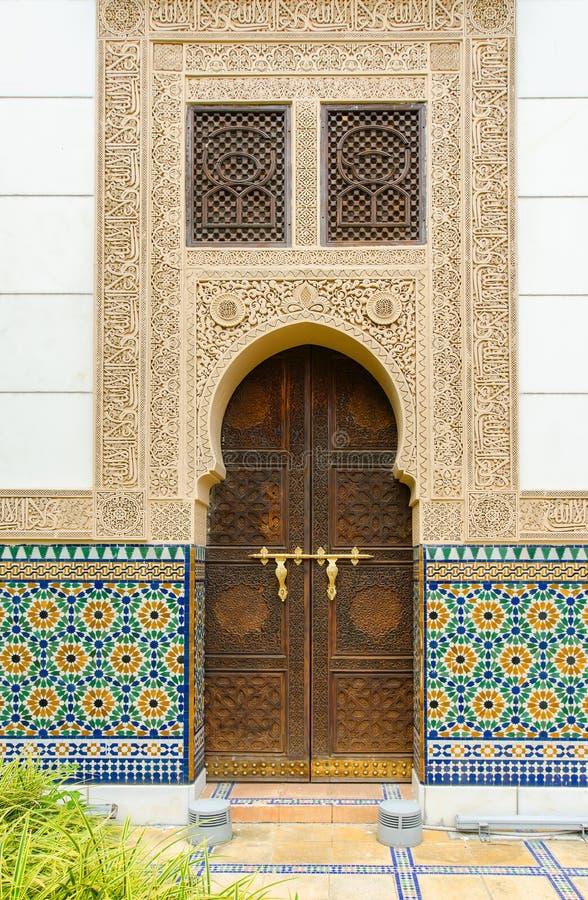 Pabellón marroquí en Putrajaya Malasia fotografía de archivo