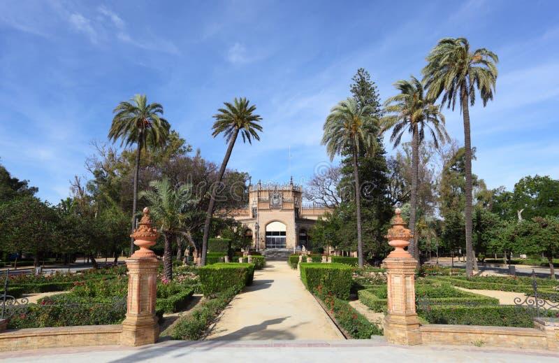 Pabellón real, Sevilla, España imagenes de archivo