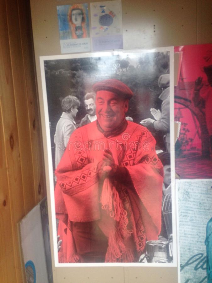 Pablo Neruda fotos de stock royalty free