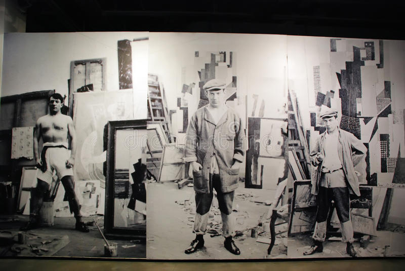 Pablo Picasso photographie stock