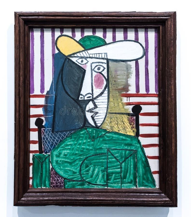 Pablo Picasso, 1881 - 1973 fotografia stock libera da diritti