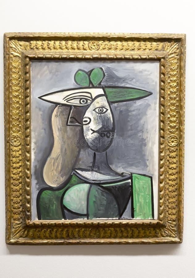 Pablo Picasso - en el museo de Albertina en Viena fotografía de archivo libre de regalías