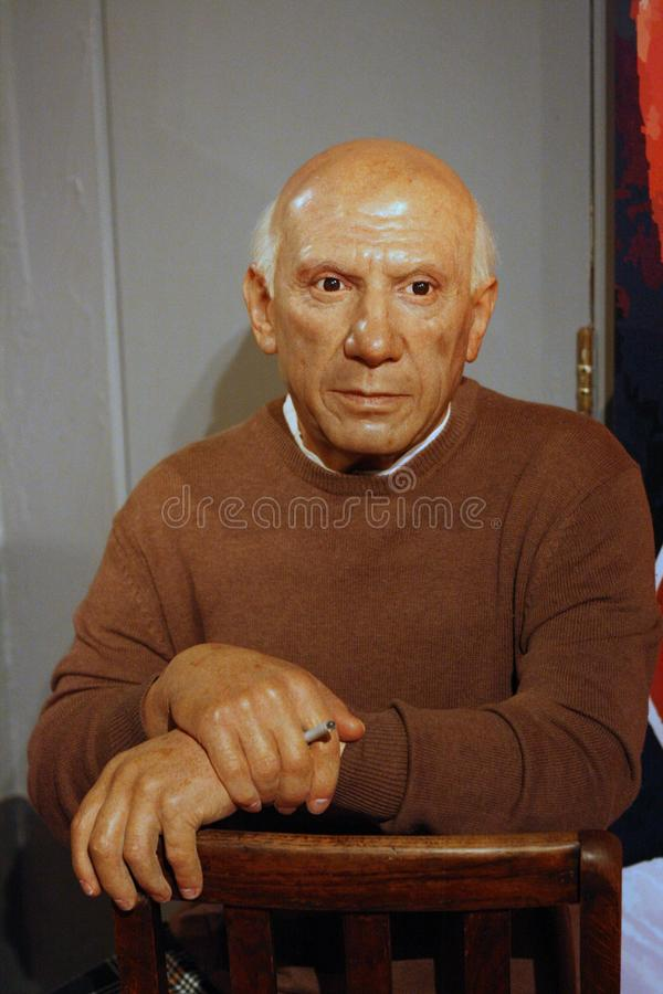Pablo Picasso wax figure